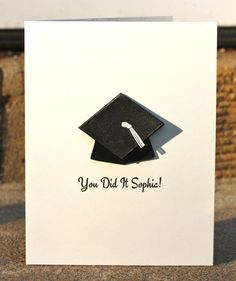 Personalize Graduation Cap Card 2012 Custom Name by loveinenvelope