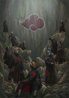 gambar akatsuki, naruto, and anime Naruto Kakashi, Naruto Shippuden Sasuke, Anime Naruto, Manga Anime, Anime Akatsuki, Sasuke Sakura, Wallpaper Naruto Shippuden, Naruto Wallpaper, Gaara