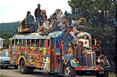 my future husband  slept under the hog farm bus — remembering Woodstock 69'