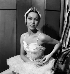 """Maria Tallchief, of the Osage Nation, was the first American prima ballerina as well as the first Native American. Tallchief's 1949 performance of Balanchine's """"The Firebird"""" in 1949 made her world famous."""