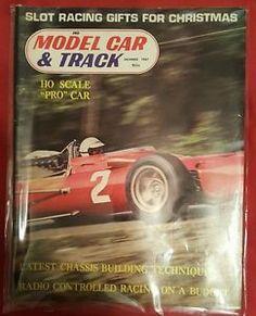 Model-Car-Track-Slot-Car-Magazine-December-1967-Rare-Vintage