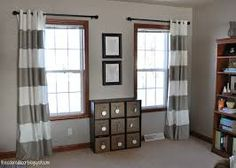 Image Result For Two Windows Curtains