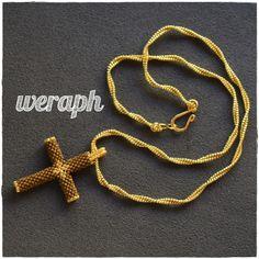 Beaded Cross, Beaded Jewelry Patterns, Paracord, Cross Pendant, Cross Stitch Patterns, Pendant Necklace, Beads, Jewelry Ideas, Religion