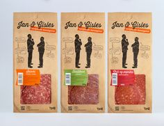 Jan & Gisles — The Dieline - Package Design Resource