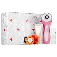 Shop Clarisonic's Smart Profile Set - Pink at Sephora. This smart-enabled, multipurpose cleansing device cleanses 11 times better than hands alone.
