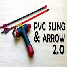 PVC Slingshot Bow V With Shooting Demo (Video) : 5 Steps (with Pictures) - Instructables Survival Bow, Survival Weapons, Outdoor Survival, Survival Prepping, Survival Skills, Emergency Preparation, Emergency Preparedness, Homemade Slingshot, Diy Slingshot