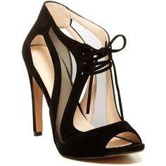 Nine West Momentous High Heel Sandal ($45) ❤ liked on Polyvore