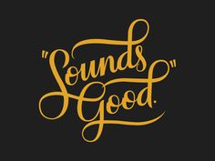 Sounds Good by Winston Scully