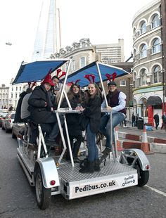 Pedibus - Beer bike, pubcrawler, pedibus, bike bar, cycle pub, cycling pub, cycling bar, bike pub, bike car,