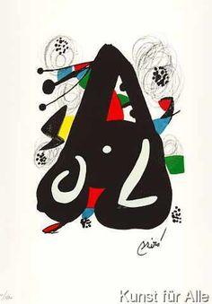 Joan Miró - Artist 20th c. - Surrealism & Abstract Art