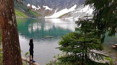 Hiking Lake Serene