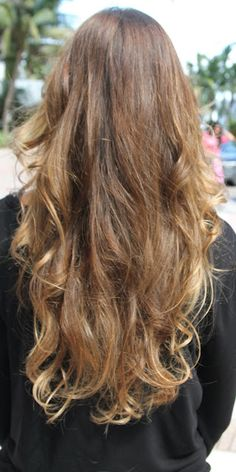 Brunette with highlights. Please let this be my hair.