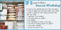 Interested in attending or hosting a Pampered Chef Freezer Meal workshop? Contact me through my website to learn more:  www.pamperedchef.biz/hollyshappykitchen