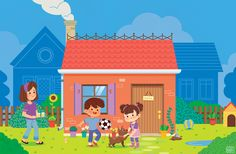 """Check out this @Behance project: """"Children Illustrations"""" https://www.behance.net/gallery/33334055/Children-Illustrations"""