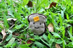 Kawaii Happy Toast Pin Accessory  by PumpkinPyeBoutique on Etsy, $7.50