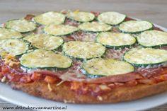 De keuken van Martine: Koolhydraatarme pizzabodem met psylliumvezels