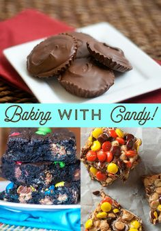Use up your stash of candy with these easy dessert recipes! Perfect for cooking with kids!
