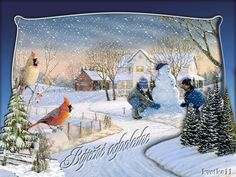 Winter, Blog, Painting, Winter Time, Painting Art, Blogging, Paintings, Painted Canvas, Drawings