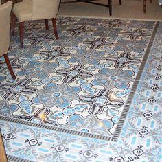 Cement Tile Shop - Encaustic Cement Tile in stock. Hydraulic Tiles, Zillow Digs, Small Bath, Tiles, Flooring, Heritage Collection, Home Improvement, Cement Tile Shop, Tile Patterns