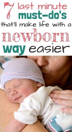 Things to do before baby arrives checklist! Preparing for baby, postpartum care, breastfeeding, and more. Make life with a newborn WAY easier with these practical things to do before baby arrives...