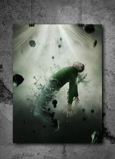 Disintegration by Alexander Fink, via Behance  visit http://afinkdesign.de/