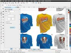 Logo Design Effects CorelDRAW Brushes Tutorial