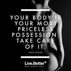 Motivational quotes on health, fitness & exercise to inspire you to get healthy and fit! #quotes #health #fitness #exercise