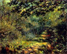 Forest Path - Renoir (1875)