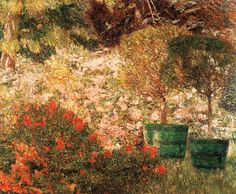 CLAUS, Emile A Corner of My Garden 1901 Oil on canvas, 60 x 74 cm Private collection