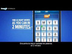 ¿Cómo jugar a Ruzzle? – Videotutorial - Encuentra la mayor cantidad de palabras en menos de dos minutos y compite con tus amigos de Facebook. - make different boards and time them. Quick time filler @ end of class