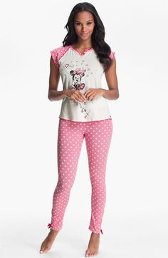 Cute! Betsey Johnson 'Minnie' Pajamas available at Nordstrom
