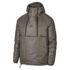 free shipping e98e7 c6e19 Nike Sportswear Tech Pack Men s Synthetic Fill Jacket Size XL (Newsprint)  Hooded Parka,