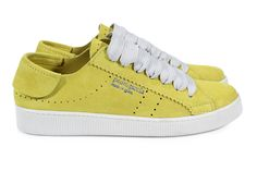 Pedro García Mr.Perry 'Phat' lace sneaker citronella castoro suede Men's capsule collection Spring-summer 2016 Made in Spain