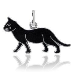 Black Cat Charm VINTAGE