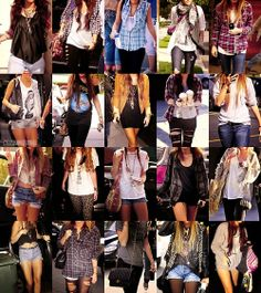 miley cyrus' outfits