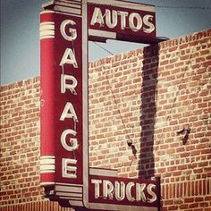 Cool old sign