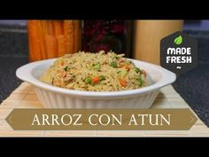 Rice with tuna Rice Recipes, Dinner Recipes, Deli, Fried Rice, Macaroni And Cheese, Food And Drink, Favorite Recipes, Dishes, Cooking