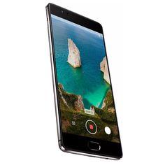 OnePlus 3T Gunmetal Android Smartphone - Android 6.0, 5.5-Inch Gorilla Glass, Quad-Core CPU, 6GB RAM, 16MP Camera, 4G
