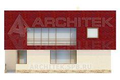 Проект коттеджа Проект дома из пеноблоков с мансардой, балконом, террасой 11х14 KU-103-P. Villa Plan, How To Plan, Frame, Projects, Home Decor, House Beautiful, Picture Frame, Log Projects, Blue Prints