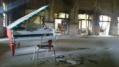 Ballhaus Grünau, an abandoned ballroom with a raw but magical atmosphere