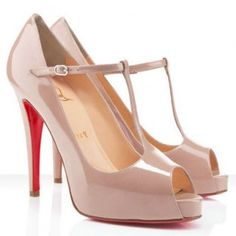 Christian Louboutin Burlina 120mm Pumps Nude - Christian Louboutin Shop