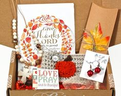 Monthly subscription box for Christian woman. Christian jewelry, encouraging prints and more! Christian Jewelry, Christian Gifts, Christian Women, Christian Organizations, Monthly Subscription Boxes, Scripture Cards, Box Design, Rose Buds, Coupon Codes