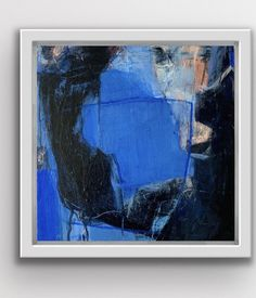 Extra large blue abstract painting, modern acrylic art, original abstract art, texture painting Dynamic Painting, Abstract Painting Techniques, Abstract Landscape Painting, Blue Painting, Abstract Art, Abstract Paintings, Oil Paintings, Blue Artwork, Modern Art Paintings
