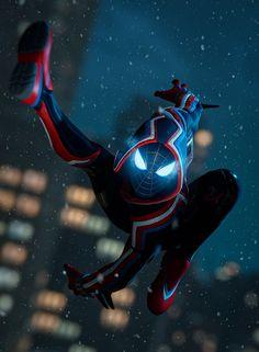 Miles Spiderman, Miles Morales Spiderman, Black Spiderman, Spiderman Art, Amazing Spiderman, Marvel Art, Marvel Heroes, Marvel Avengers, Marvel Comics