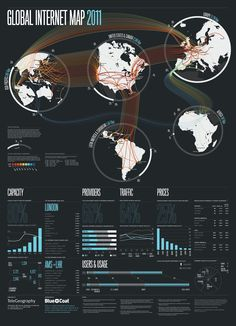 global internet map!