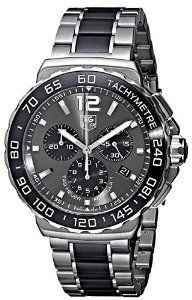 7cc4e698691 TAG HEUER F1 CAU1115.BA0869 GENTS CASE CHRONOGRAPH DATE WATCH Fine Watches