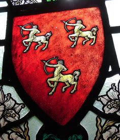 Shield of the Coats of Arms of Worsbrough - 3 centaurs. | Flickr - Photo Sharing!