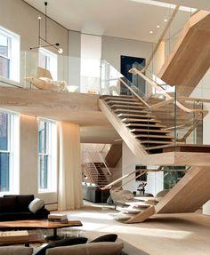 Manhattan Penthouse by Gabellini Sheppard Associates