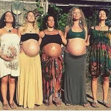 Image result for pregnant hippies