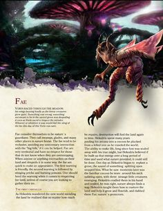 DnD 5e Homebrew — Fae Race by PoundTown00